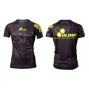 OLIMP Koszulka BIG. - Reglan Active Neon Black