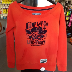 OLIMP Bluza WOMEN'S HOODIE - Olimp L&F CO'S - RED