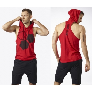 OLIMP BIG Koszulka z kapturem - Men's Stringer Hoodie Red