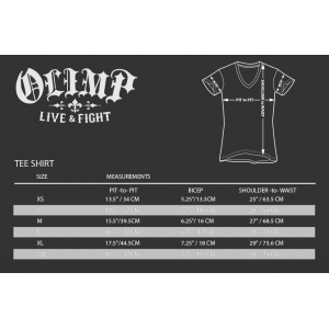 OLIMP T-Shirt RIDE FREE Charcoal - PROMO