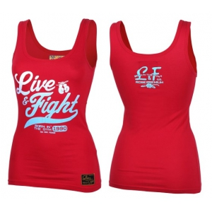 OLIMP Women's Tank Top ORIGINAL 90 Red